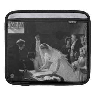ビクトリアンな花嫁 iPadスリーブ