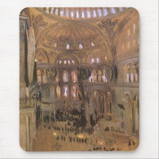 ビクトリアンな芸術、Sargent著サンタSophiaのスケッチ マウスパッド