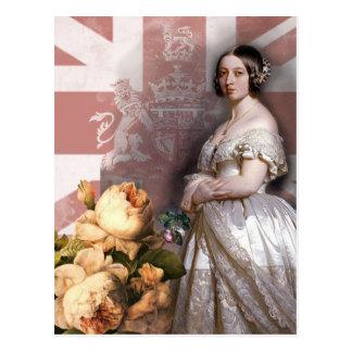 ビクトリアヴィンテージの女王 ポストカード