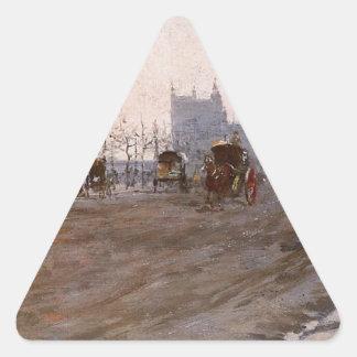 ビクトリア堤防、ジウゼッペ著ロンドン 三角形シール