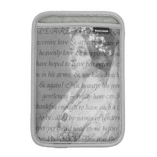 ビクトリア女王の引用文 iPad MINIスリーブ