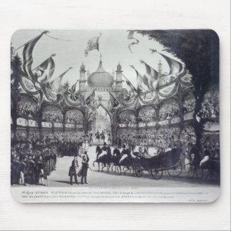 ビクトリア女王はブライトンに最初に訪問します マウスパッド