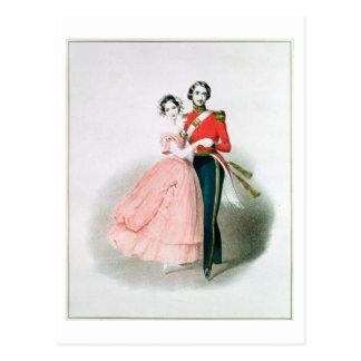 ビクトリア女王 ポストカード