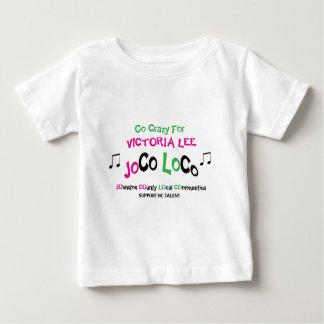 ビクトリア幼児のTシャツ ベビーTシャツ