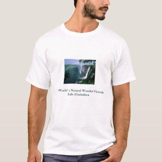 ビクトリア滝2、世界の` sの自然な驚異VI… Tシャツ