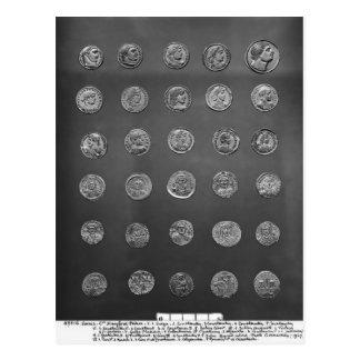 ビザンチンおよびローマの硬貨、04第10世紀 ポストカード