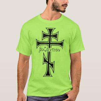 ビザンチンの十字 Tシャツ
