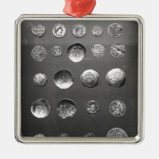 ビザンチンの、ローマおよびSassanianの硬貨 メタルオーナメント