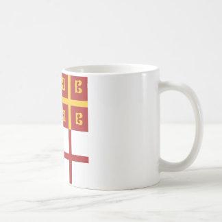 ビザンツ帝国の旗 コーヒーマグカップ