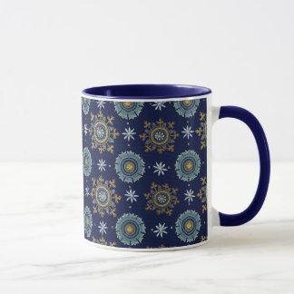 ビザンツ帝国の青のマグ マグカップ