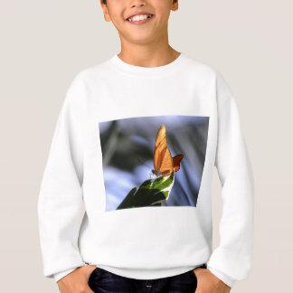 ビジネスについての蝶 スウェットシャツ