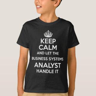 ビジネスシステムの分析者 Tシャツ