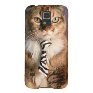 ビジネスタイの国内猫 GALAXY S5 ケース