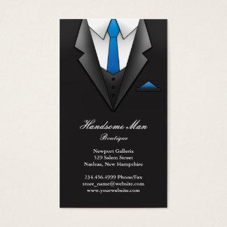 ビジネスマンのスーツの名刺 名刺