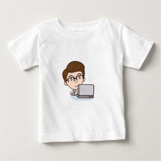 ビジネスマン ベビーTシャツ