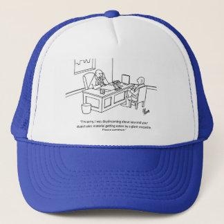 """ビジネスユーモアの""""巨大なワニ""""のトラック運転手の帽子 キャップ"""