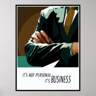 ビジネス個人的ではないお金は句ポスターを投資します ポスター