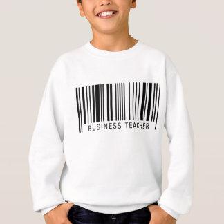 ビジネス先生のバーコード スウェットシャツ