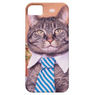 ビジネス猫の電話箱 iPhone SE/5/5s ケース