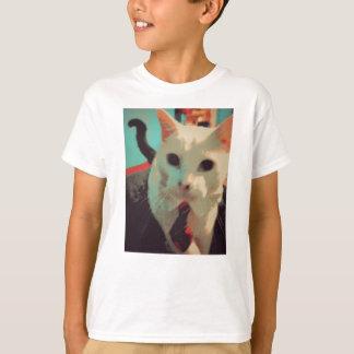 ビジネス猫はビジネスを意味します Tシャツ