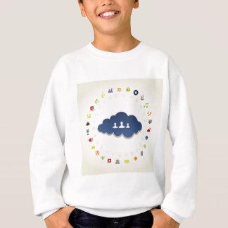 ビジネス雲 スウェットシャツ