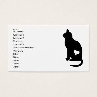 ビジネス黒猫 名刺