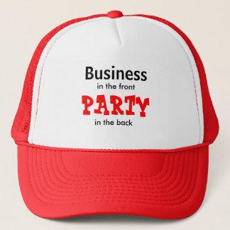 ビジネス、前部で、背部のパーティー、 キャップ