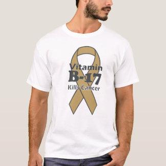 ビタミンB-17は蟹座を殺します Tシャツ