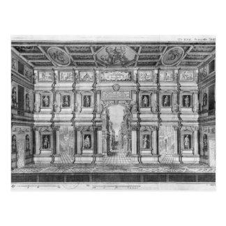 ビチェンツァのオリンピック劇場 ポストカード