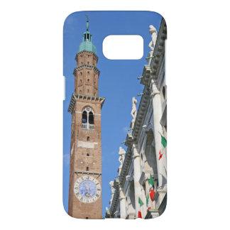 ビチェンツァ-イタリアのバシリカ会堂Palladianaのタワー Samsung Galaxy S7 ケース