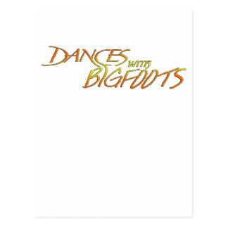 ビッグフットとのダンス ポストカード