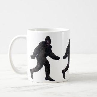 ビッグフットのサスカッチYetti コーヒーマグカップ