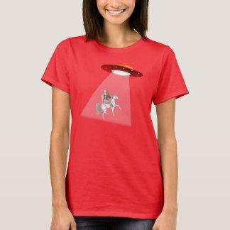 ビッグフットのユニコーンUFOの外転のTシャツ Tシャツ