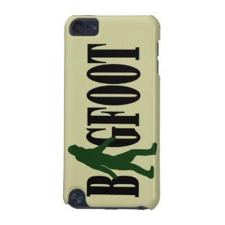 ビッグフットの文字及び緑のsquatchのグラフィック iPod touch 5G ケース