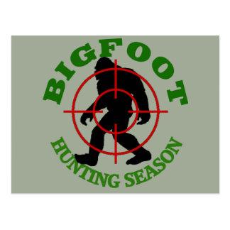 ビッグフットの狩猟期 ポストカード
