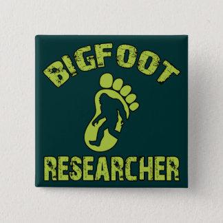 ビッグフットの研究者 5.1CM 正方形バッジ