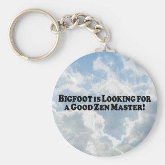 ビッグフットは基本よい禅マスターを-捜しています キーホルダー