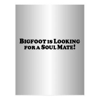ビッグフットは基本良きパートナーを-捜しています ポストカード
