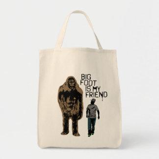 ビッグフットは私の友人です トートバッグ