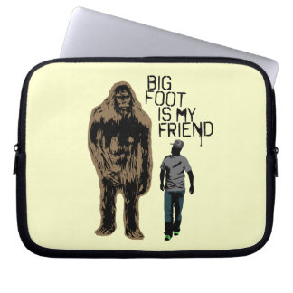 ビッグフットは私の友人です ラップトップスリーブ