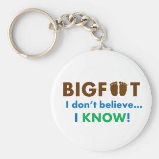 ビッグフットはI私を知っています信じません! キーホルダー
