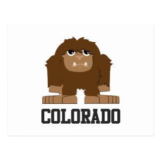 ビッグフットコロラド州 ポストカード
