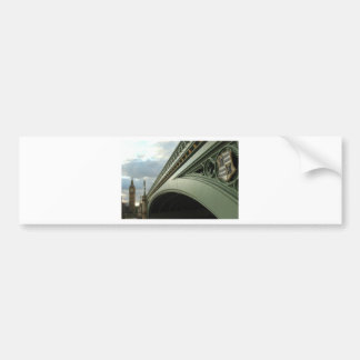ビッグベンおよびウエストミンスター橋 バンパーステッカー