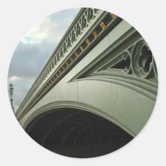 ビッグベンおよびウエストミンスター橋 ラウンドシール