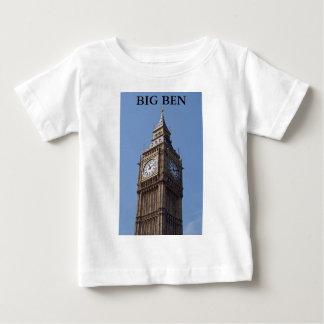 ビッグベンの乳児のワイシャツ ベビーTシャツ