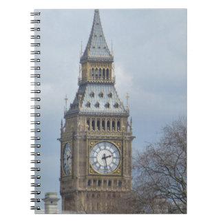 ビッグベンの時計 ノートブック