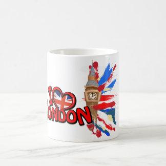 ビッグベンウエストミンスターの時計台 コーヒーマグカップ