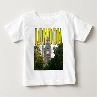 ビッグベンロンドンイギリス ベビーTシャツ