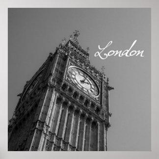 ビッグベンロンドン ポスター