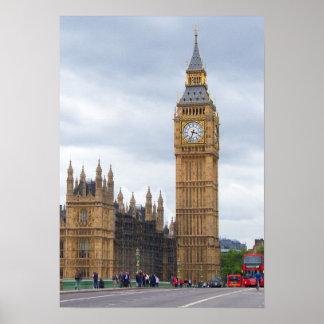 ビッグベン、ロンドン ポスター